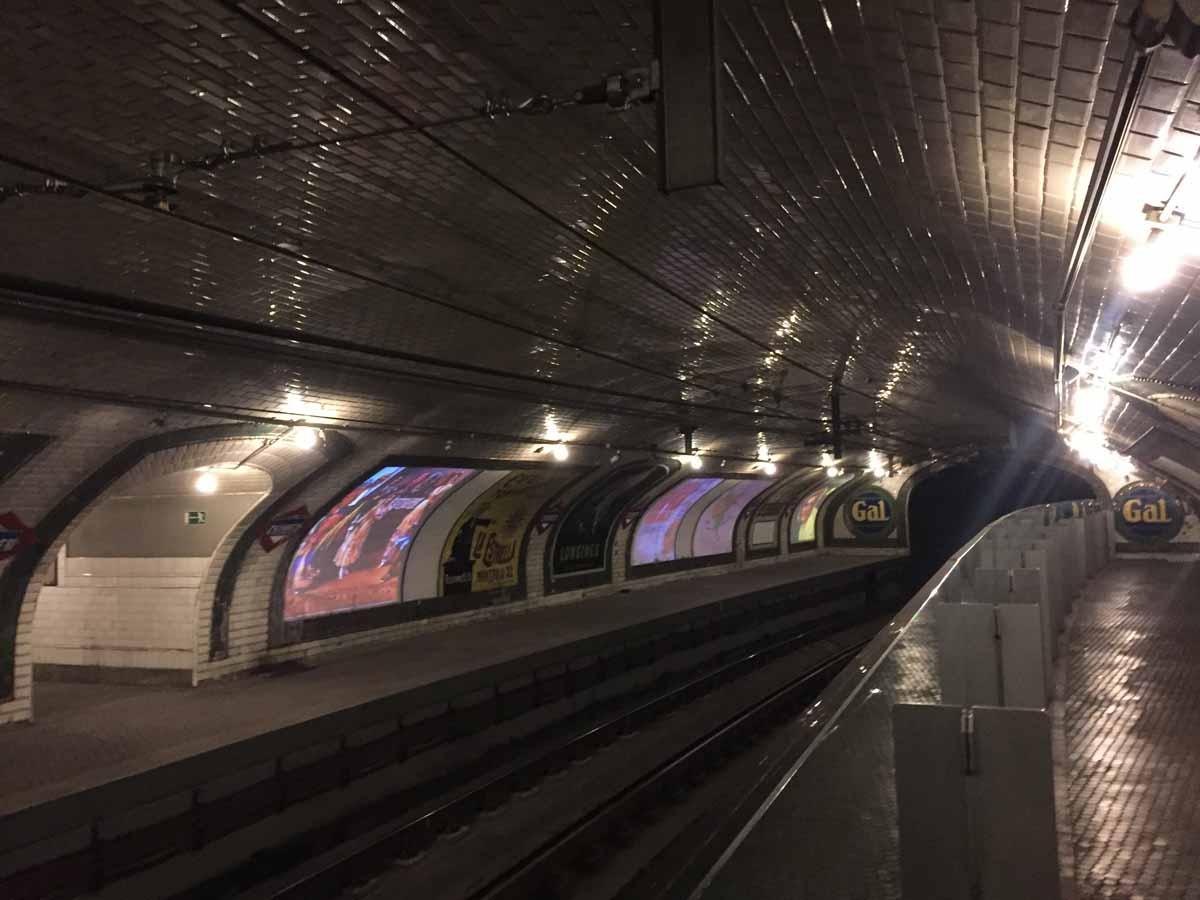 Estación de Metro de Chamberí