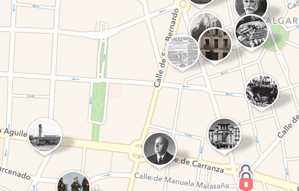 App historias de Madrid